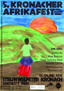 Afrikafest Plakat 2016 A3